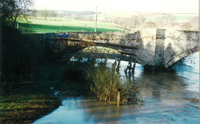 Ancrum Bridgend Bridge Repairs